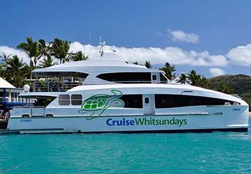 Airlie Beach Hamilton Island Marina ferry timetables and