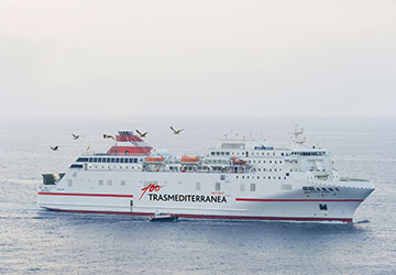 Nador almeria ferry timetables and ferry tickets at for Ticket nador