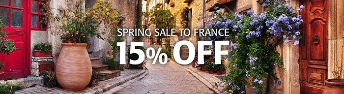 15% off ferries to France this spring