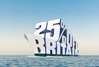 25% off ferries to Britain all year