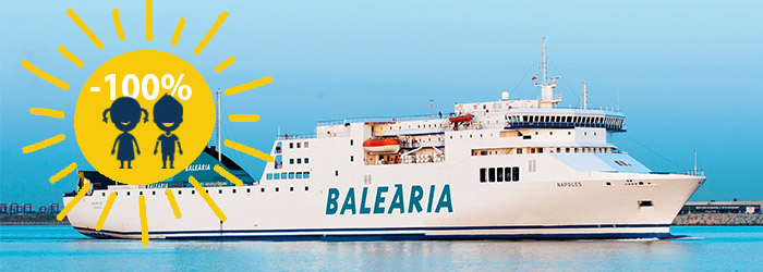 Balearics: kids sail for FREE