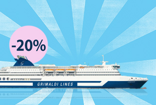 Save 20% on your summer crossings with Grimaldi
