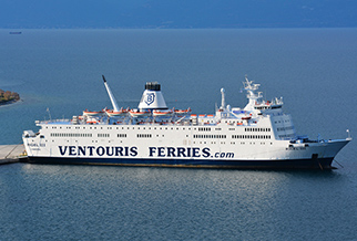 Ventouris Ferries: up to 25% OFF your 2018 sailings